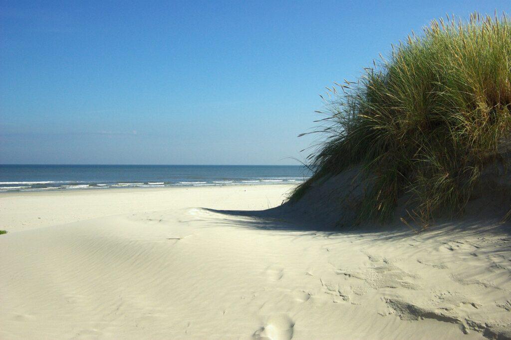 Sanddüne am Meer