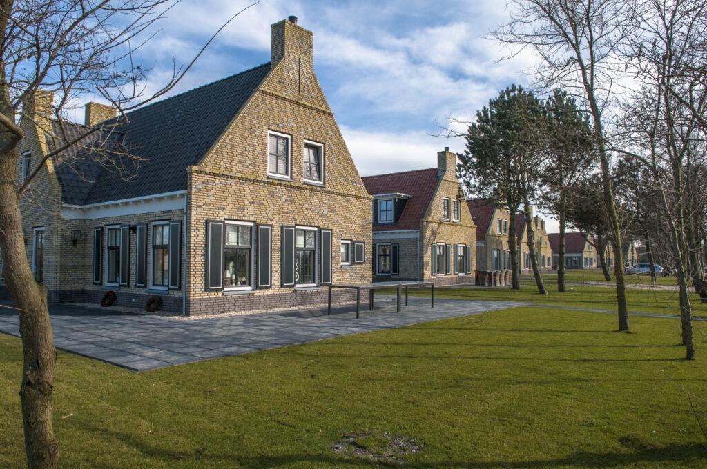 Klinker-Häuser